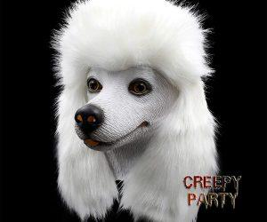 Poodle Dog Head Mask
