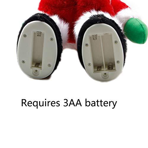 Twerking Santa Battery Compartment
