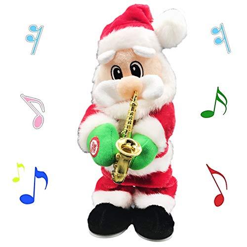 Saxophone Santa