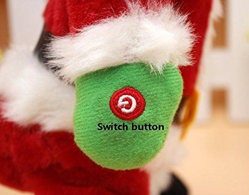 Start hand on Twerking Santa