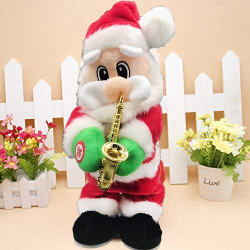 Saxophone Santa Claus